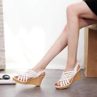 Giày Nữ KIO Đế Cao, Giày Xăng Đan Đấu Sĩ Kẻ Ca Rô BG 39 Cho Nữ thumbnail