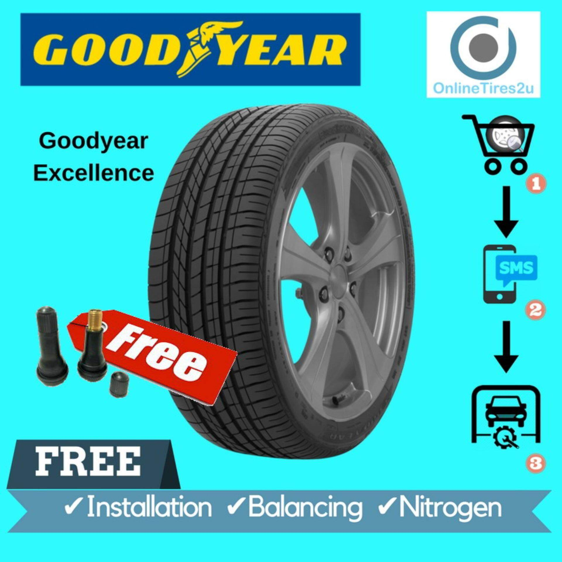 Goodyear Excellence - 215/50r17 (with Installation) By Onlinetires2u.