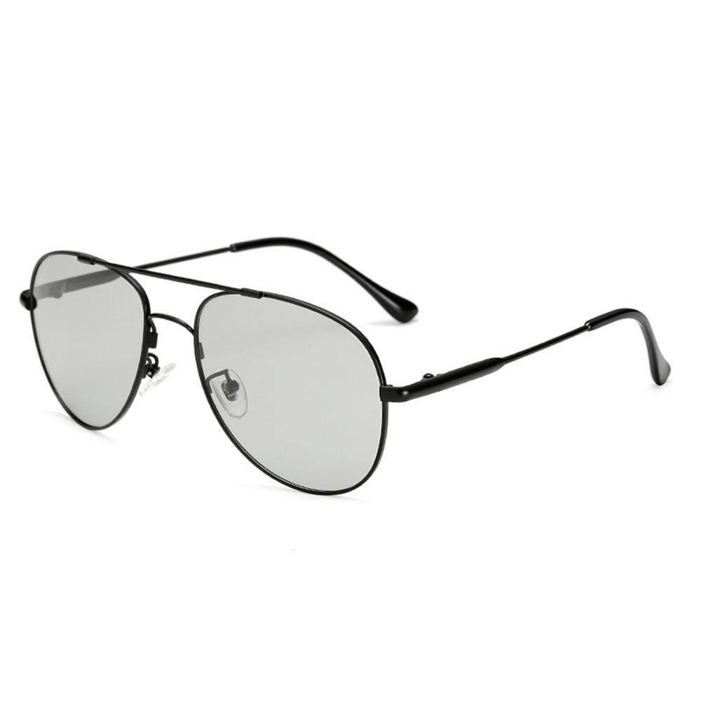 6a57a22c31c 2018 New Polarized UV400 3 Colors Alloy Sunglasses Pilot Frog Mirror  Driving Glasses For Men QJ