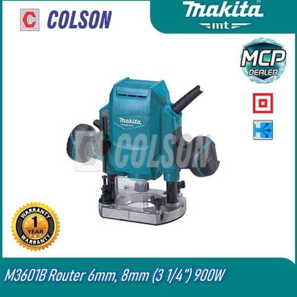 Makita MT 6mm (1/4) , 8mm (3/8) Router M3601B Pemangkas Makita Pemangkas