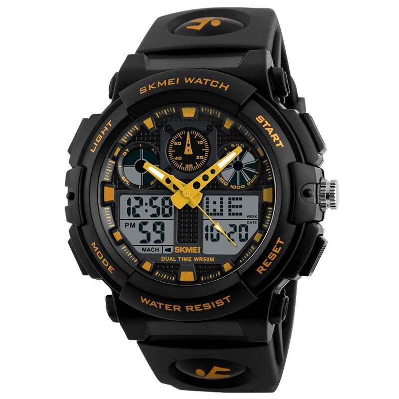 Skmei Brand Men Sports Watches Watch Casual LED Digital Watch Multifunctional Wristwatches 50M Waterproof Student Clock Malaysia