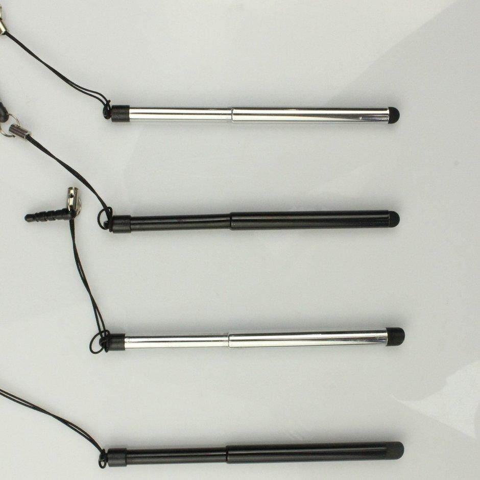 ELEC Rút Đa Năng Màn Hình Cảm Ứng Bút Điện Dung Bút cảm ứng Cho Điện Thoại Thông Minh Máy Tính Bảng Dành Cho iPad Điểm Tròn Mỏng Đầu