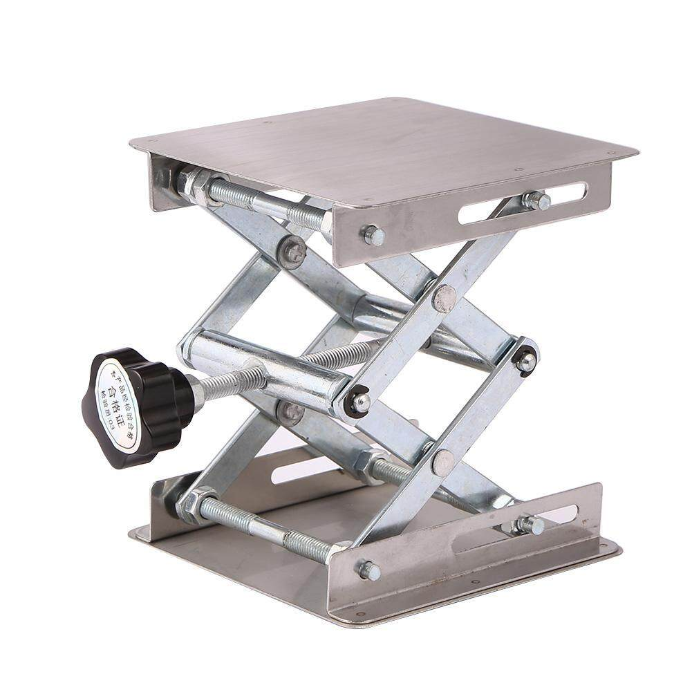 「winnereco」Aluminum Router Lift Table Woodworking Engraving Lab Lifting Stand Rack(Ready Stock/COD Available/Low Price/High Quality)