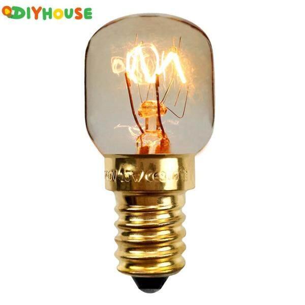 (Sẵn Sàng) 10 Bóng Đèn Chịu Nhiệt 15W/25W E14 Đèn Muối Cho Bếp Lò 220V
