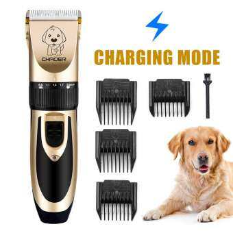 Cat Dog Hair Trimmer Electrical Pet Hair Clipper Remover Cutter Grooming Low Noise Rechargeable Cordless Pets Haircut Machine-