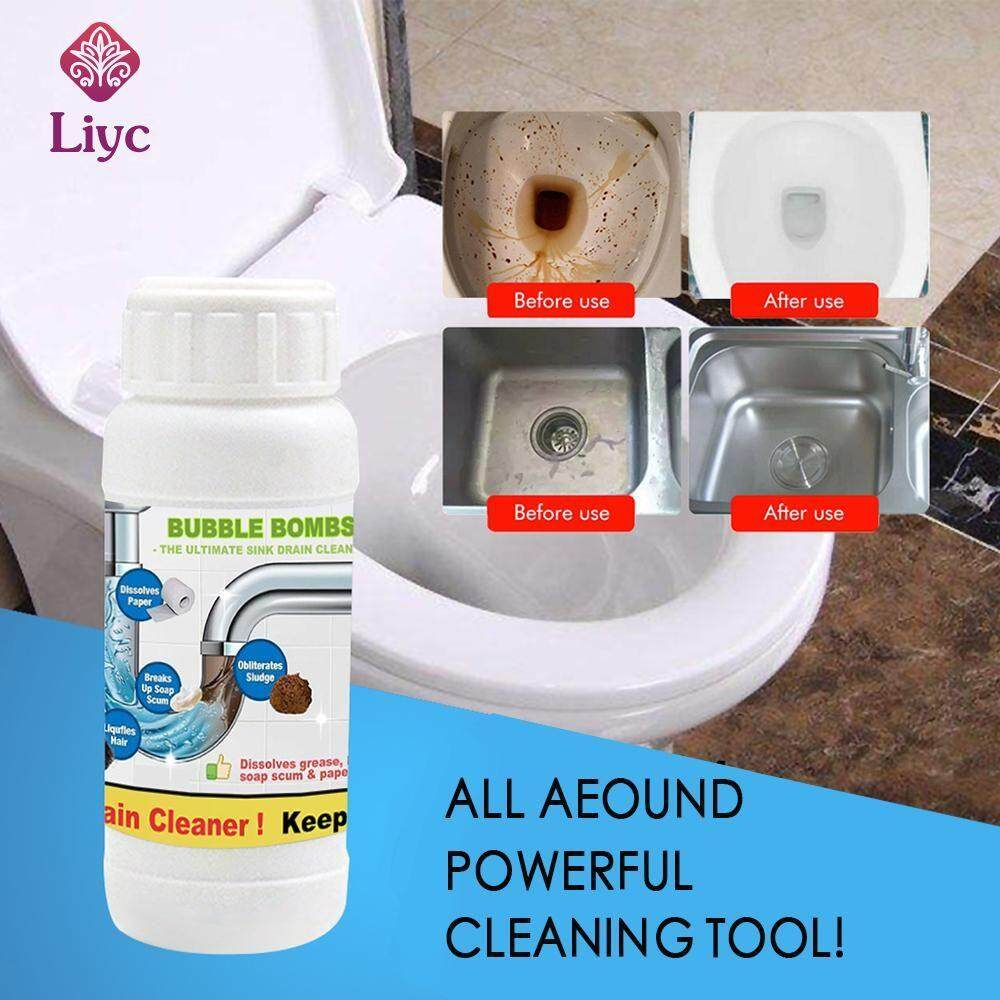Liyc 1Pcs/5Pcs Powerful Pipe Dredging Agent Powerful Sink Drain Cleaner For Kitchen Sewer Toilet Brush Closestool Clogging Cleaning Tools