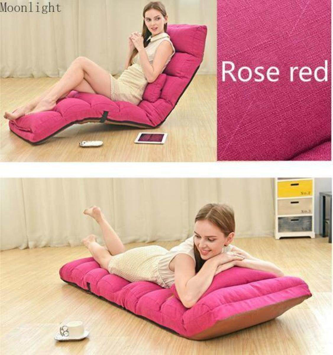 Miraculous Moonlight Casa Relaxing Folding Sofa Chaise Lounge Chair Home Adjustable Folding Lazy Sofa Bed Relax Chair Floor Cushion Multiangle Couch Beds For Cjindustries Chair Design For Home Cjindustriesco