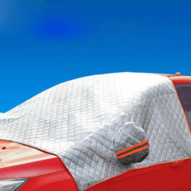 GRAND Silver Universal Car Cover Auto Cover