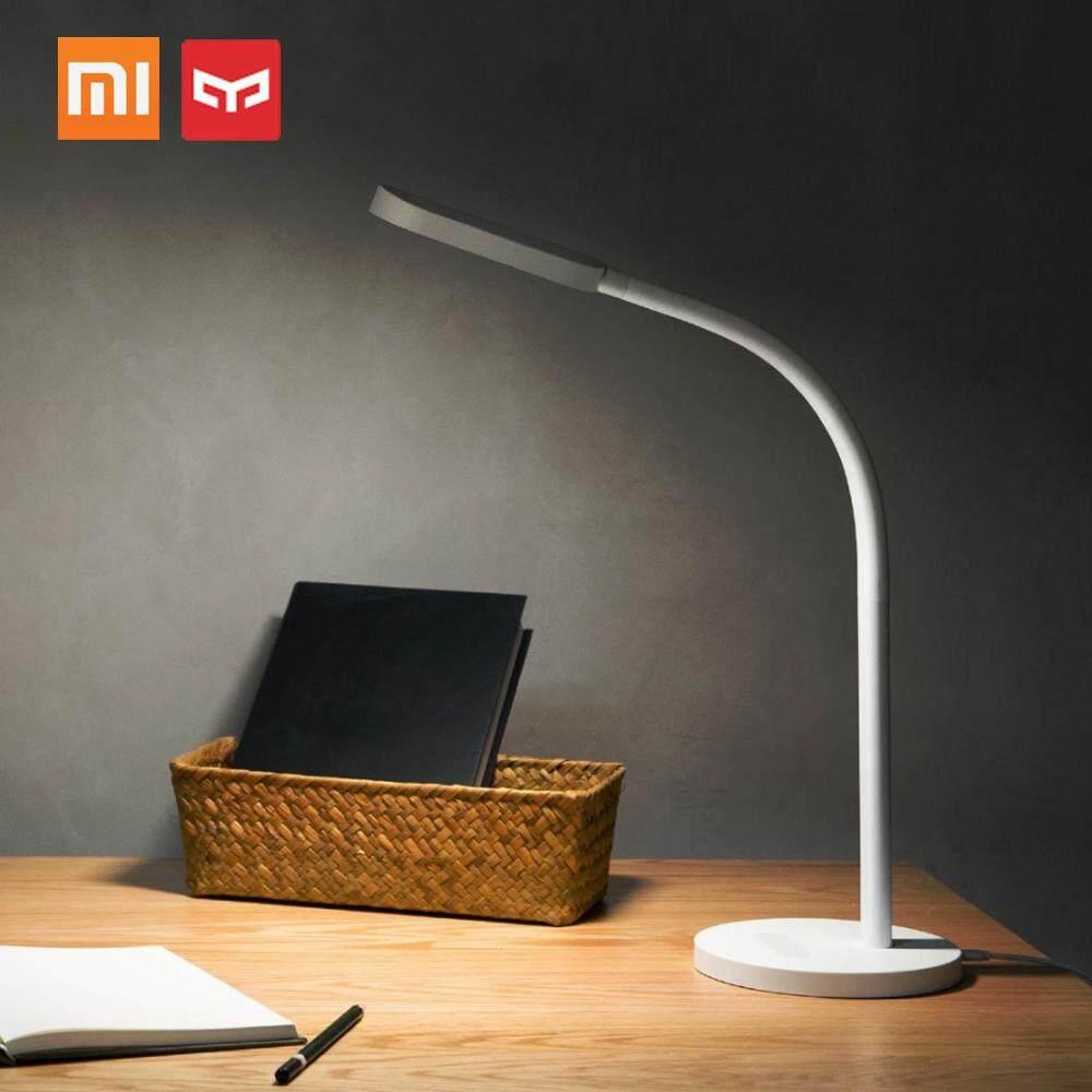 (Standard Version) Original Xiaomi Yeelight Mijia L-ED Desk USB Lamp YLTD01YL 3W Portable Smart Folding Touch Adjust Reading Table Lamp Brightness Lights US Plug