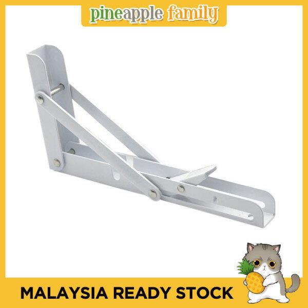 2PCS 14 Length Counter Folding Triangle Brackets Shelf