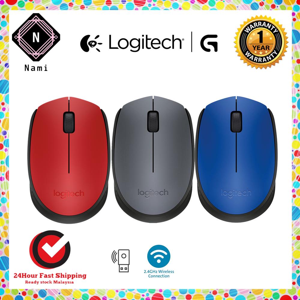 Logitech M170 Wireless Mouse (910-004658) - Original (Carton Box Packing) Malaysia