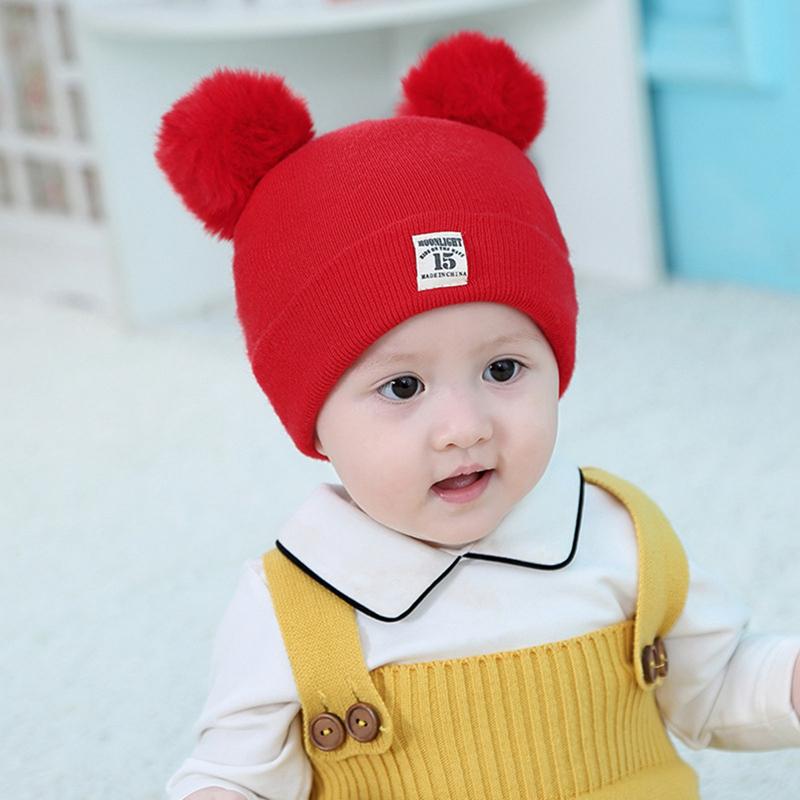 【Bán Chạy】mũ Mùa Đông Và Cotton Hàn Quốc Cho Bé Trai 0-3-6-12 Mùa Thu Cho Trẻ Sơ Sinh 0-3-6-12 Mũ Trẻ Em Tháng Tuổi Mũ Lưỡi Trai Phiên Bản Nữ Len Em Bé Ấm Áp