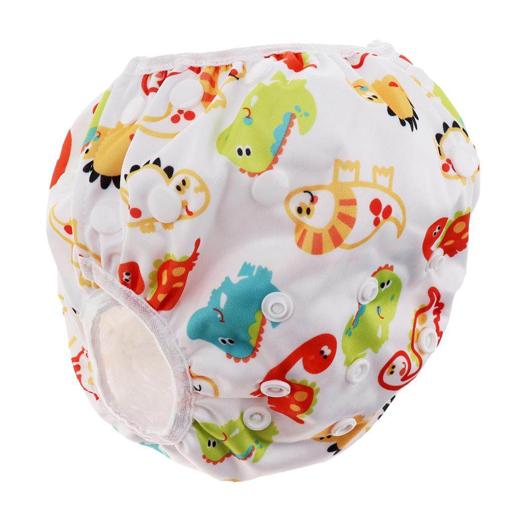 Fenteer Baby Adjustable Snap Swim Diapers Toddlers Reusable Waterproof Swimming Shorts By Fenteer.