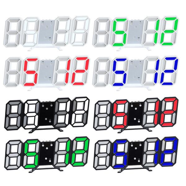 【Digital Bảng Clock】 Đồng Hồ Để Bàn Kỹ Thuật Số 3D 8 Hình, Báo Động Hiển Thị Thời Gian LED USB Snooze Trang Trí Nội Thất bán chạy