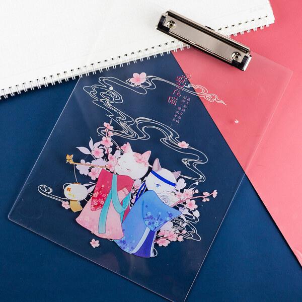 Mua Thư Mục Máy Tính Để Bàn Trong Suốt Sao Acrylic A4 Viết Pad Nhựa Đa Chức Năng Sách Clip Tấm Sách Giấy Tờ Đáng Yêu Được Viết Trong Các Tập Tin Hoạt Hình Bột Văn Phòng Phẩm Cứng Học Nẹp