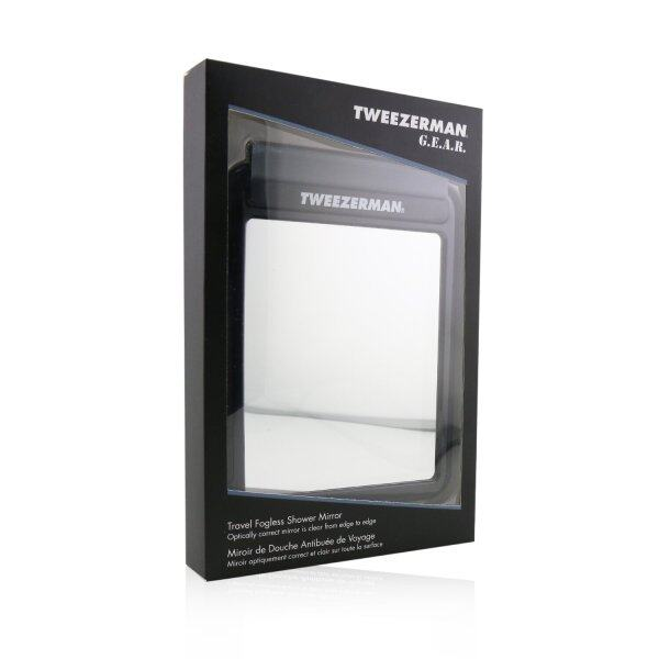 Buy TWEEZERMAN - G.E.A.R. Travel Fogless Shower Mirror One Size Singapore