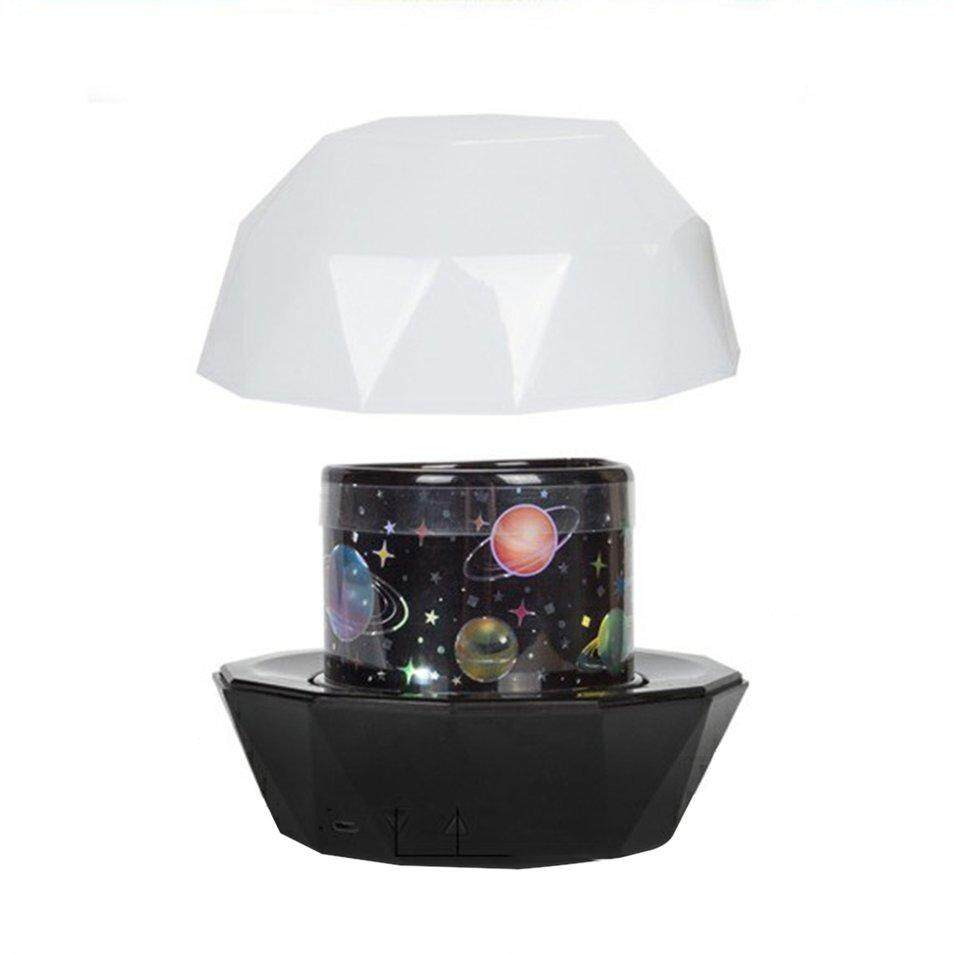 Hot Sales Rhinestone Shape Baby Moon Star Colorful Sky Projector 360 Degree Rotation By Befubulus.