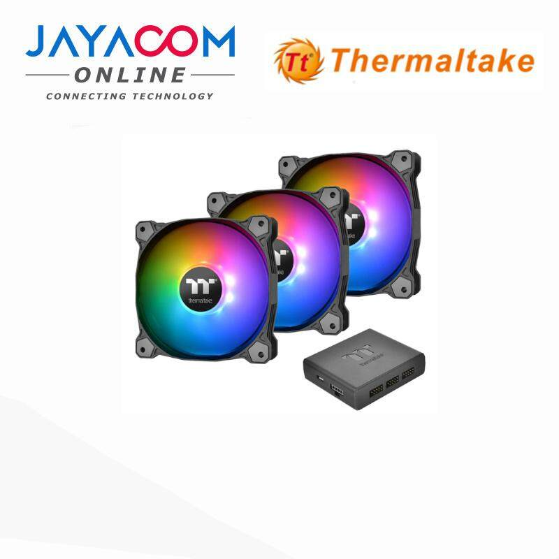 THERMALTAKE CLF063PL12SWA PURE PLUS RGB 12 RADIATOR FAN(3PACK) Malaysia