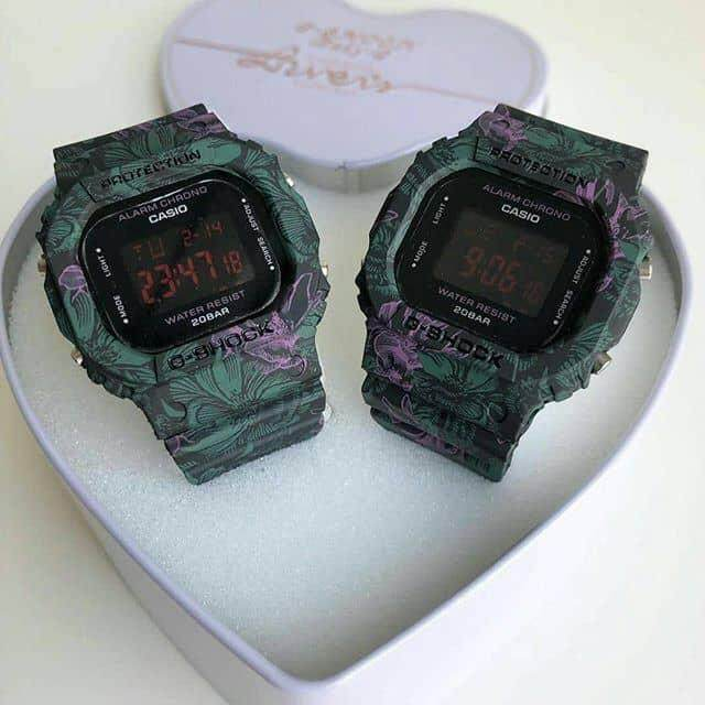 NEW COUPLE WATCH FLORA DW5600 EDITION Malaysia