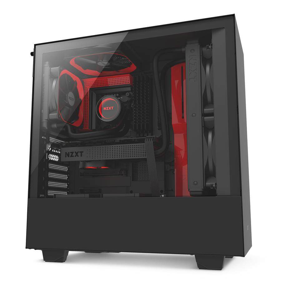 NZXT H SERIES H500 COMPACT ATX MID-TOWER CASE WITH TEMPERED GLASS Malaysia