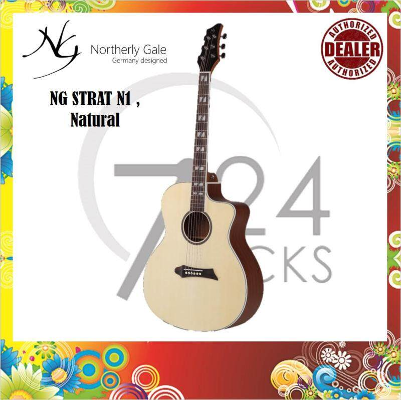 Northerly Gale Germany Designed START N1 40 Inch Modern Cutaway Mini Jumbo Acoustic Guitar Malaysia