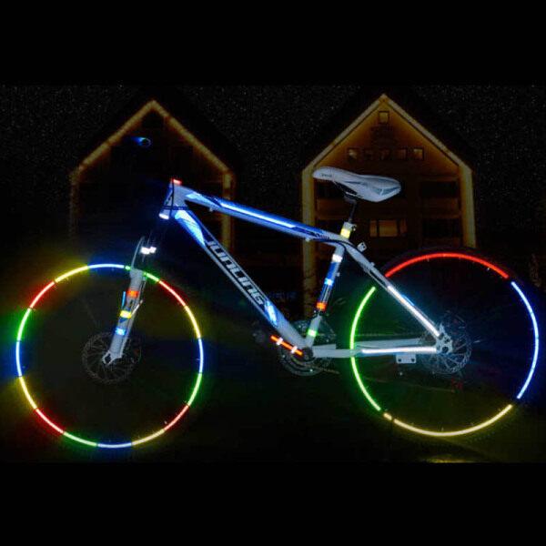 Mua BMX 1 Cuộn Dải Phản Quang Cạnh Băng Dính Bền Xe Đạp Xe Máy Xe Hơi Nhãn Dán Vào Ban Đêm Biike Phụ Kiện 1Cm * 8M BMX