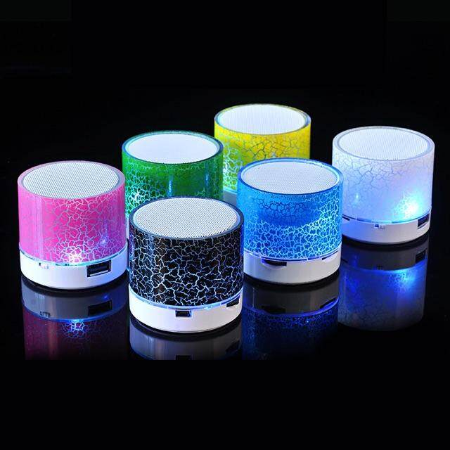Mini Bluetooth Speaker With Disco Led Lights Great Quality Cheap Price By Wintech.