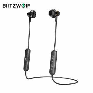 BW-BTS5 BlitzWolf Tai Nghe Bluetooth 5.0 Không Dây, Tai Nghe Tai Nghe Dây Đeo Cổ Thể Thao Nửa Trong Tai Từ Tính AAC Âm Thanh Nổi HiFi Tai Nghe Có Mic thumbnail