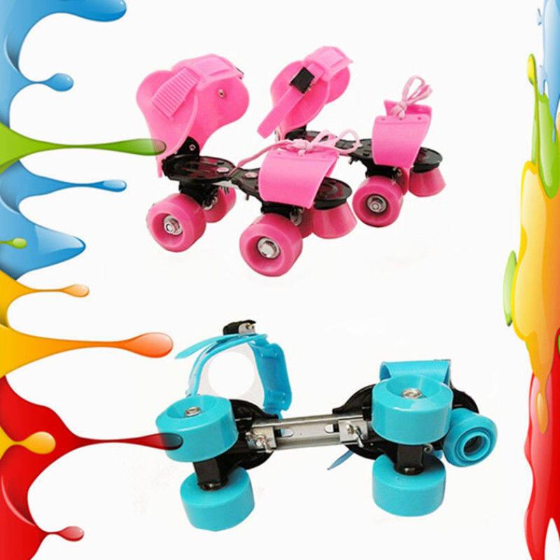 Phân phối JIMMY Khung Sắt Giày Trượt Pa-tanh Trẻ Em Giày Trượt Băng Bốn-Bánh Xe-Con Lăn Hàng Giày ◆