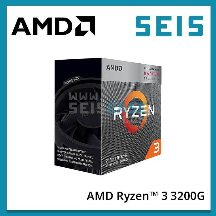 AMD RYZEN 3 3200G 4 Core 4 Thread 3.6 GHz Radeon Vega 8 Graphics( 4.0 GHz Max Boost ) Socket AM4 65W YD3200C5FHBOX Desktop Processor