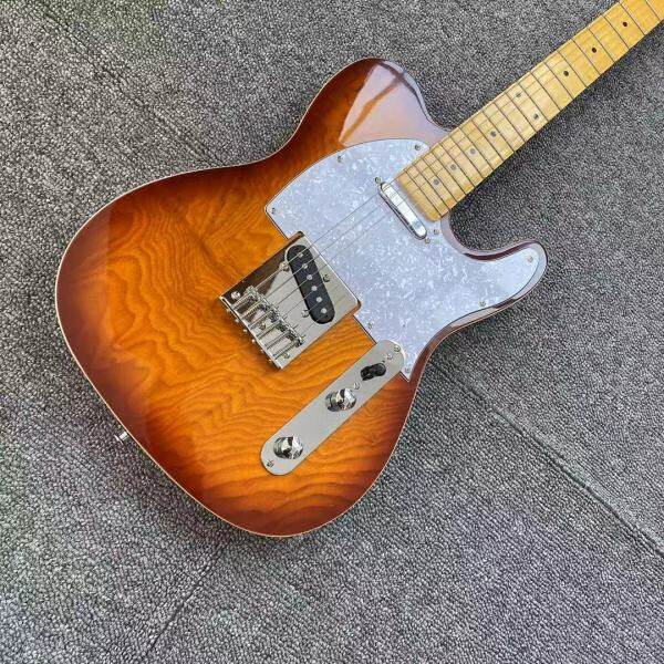 TL electric guitar 22 frets maple,Canada GRAPH TECH Nut,high quality Top Daddario strings accessory Guitar Musical Instrument Malaysia
