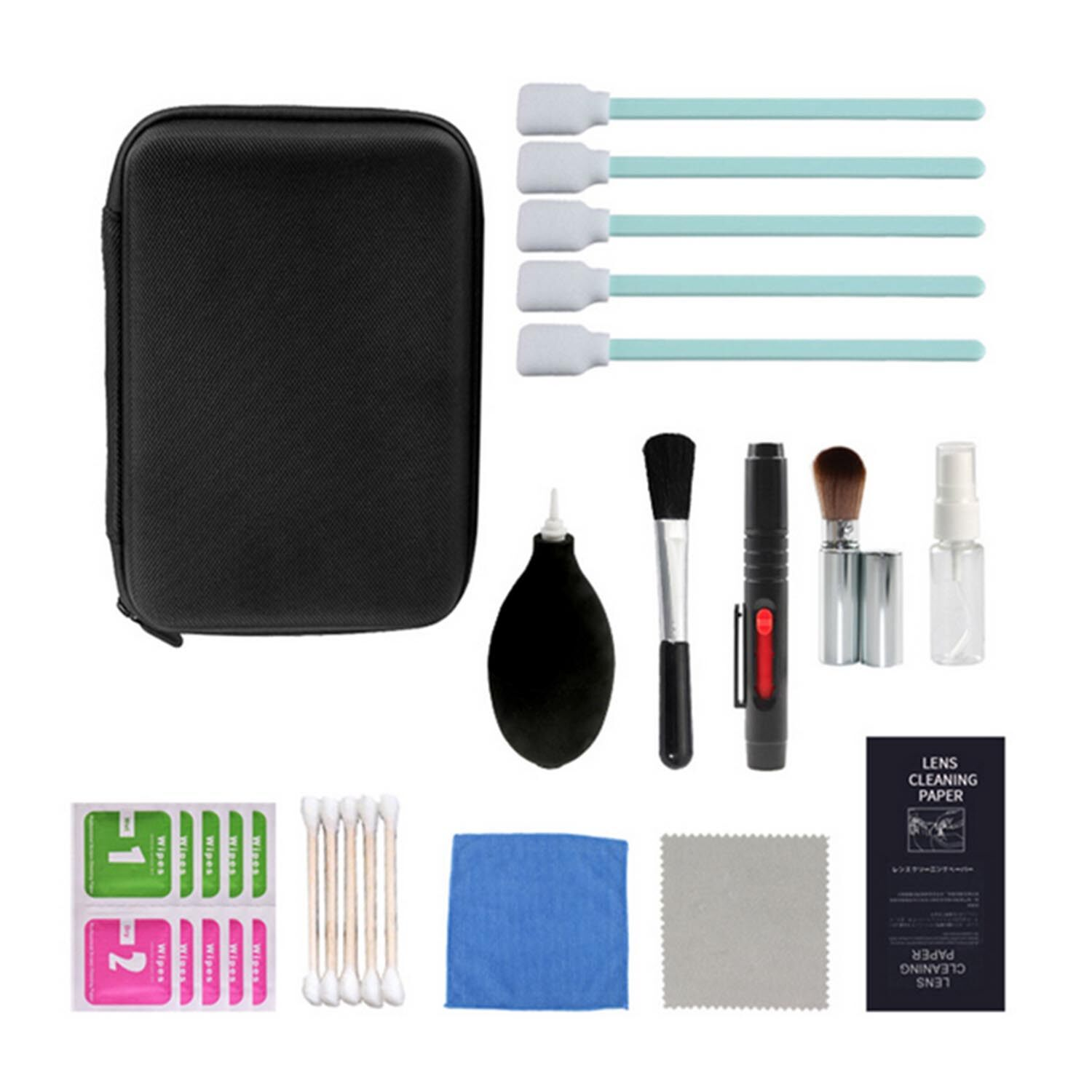 24pcs Professional Cleaning Tools Kit For Dslr Cameras Photographic Equipment Computer Mobile Phone Digital Camera Notebook.
