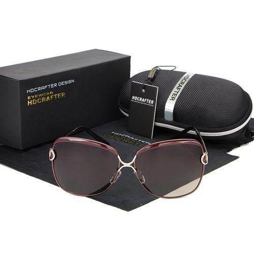 2f3e77d4549 Grace celebrity retro fashion ladies Sunglasses Women Polarized Sung lasses  UV400 cat eyes Alloy Legs Shades