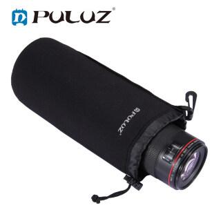 PULUZ Neoprene Ống Kính Máy Ảnh SLR Mang Theo Túi Có Móc Treo Cho Canon Nikon Máy Ảnh Sony thumbnail