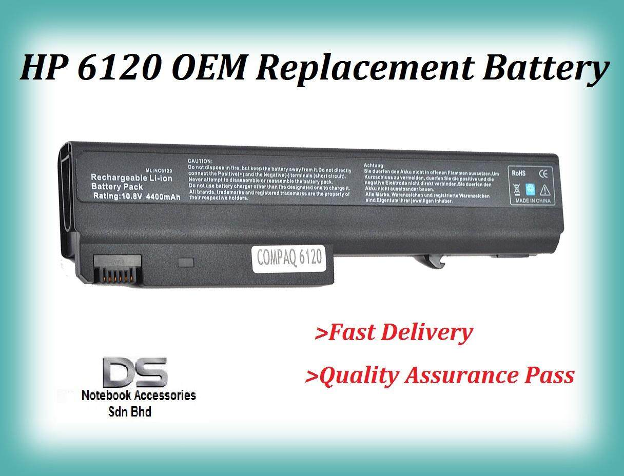Replacement Laptop Battery for HP 6715b / HP 6120 Battery Malaysia