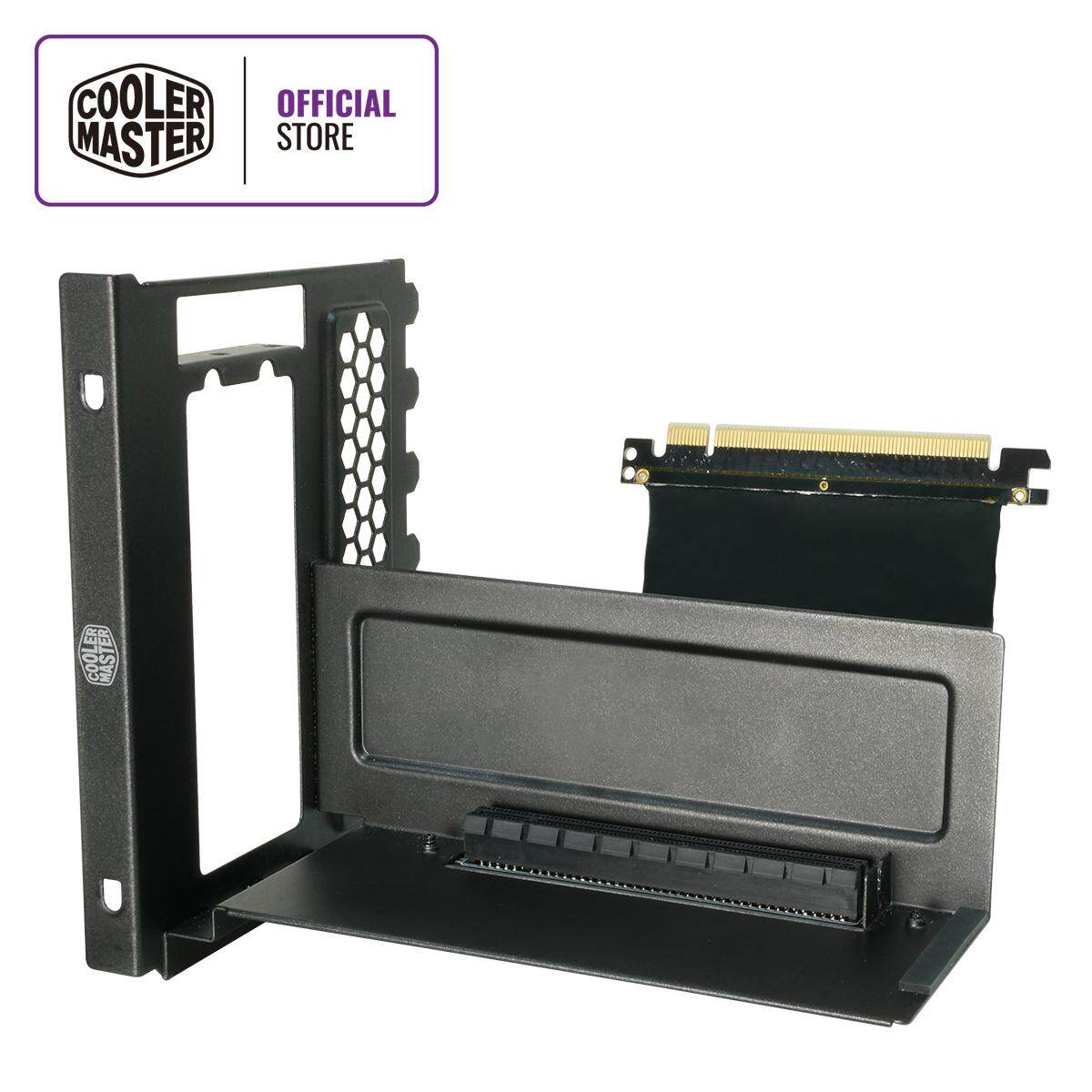 Cooler Master Vertical Graphics Card Holder Kit with PCI-E 3 0 x16 Riser  Cable