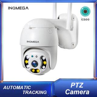 Camera IP PTZ INQMEGA Ngoài Trời CCTV AI Phát Hiện Con Người 1080P Wifi 4X Thu Phóng Kỹ Thuật Số Camera Không Dây H.265 P2P ONVIF Âm Thanh 2MP Camera An Ninh thumbnail