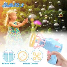 HelloKimi Súng bắn bong bóng đồ chơi dành cho trẻ em (kích thước 15*14.5*7cm)