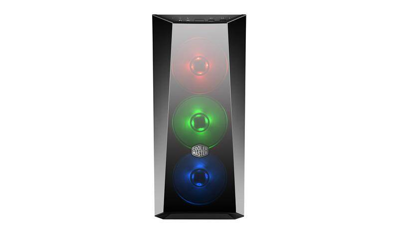 COOLER MASTER MASTERBOX LITE 5 RGB TEMPERED GLASS WINDOW CHASSIS Malaysia