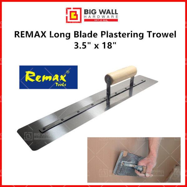 REMAX Long Blade Plastering Trowel 3.5 inch x 18 inch Big Wall Hardware