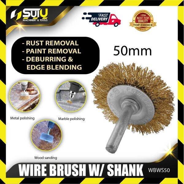 Knight WBWS50 Wire Brush With Shank 50MM
