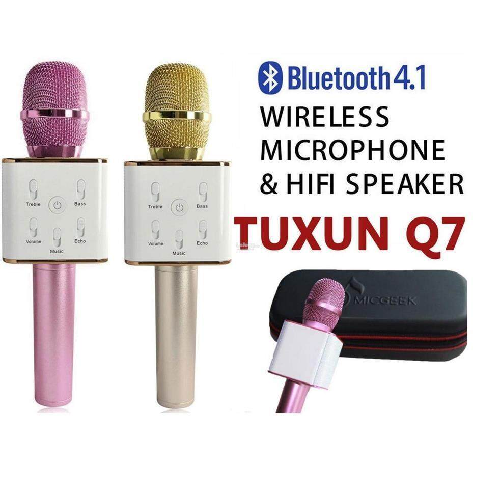 Tuxun Q7 Portable Wireless Bluetooth Speaker Microphone By Pinengstore.