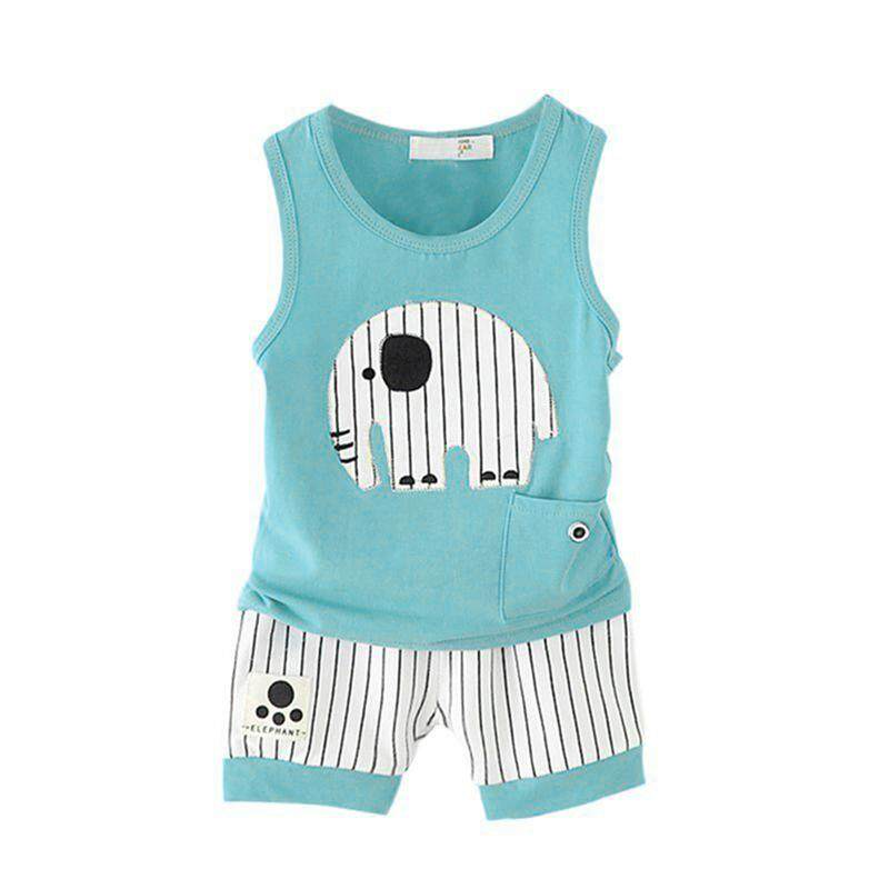 Clothing Sets 5pcs Baby Underwear Set Cotton Cartoon Tops Pants Hat Saliva Towel Jumpsuit Hot Sale 50-70% OFF Boys' Baby Clothing