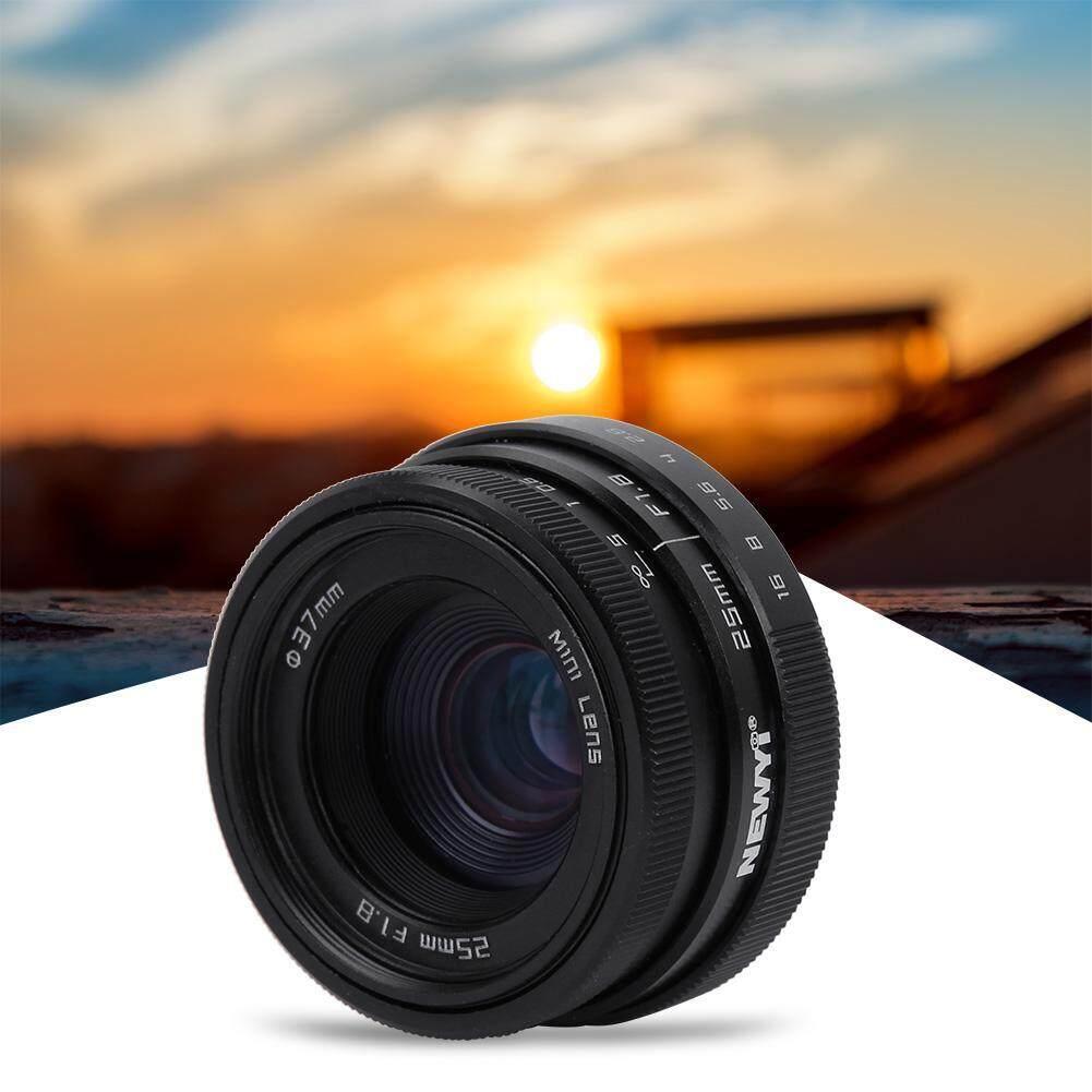Lazada Giảm Giá Khi Mua 25 Mm F1.8 Mini CCTV C Gắn Ống Kính Góc Rộng Cho Sony Nikon Canon DSLR