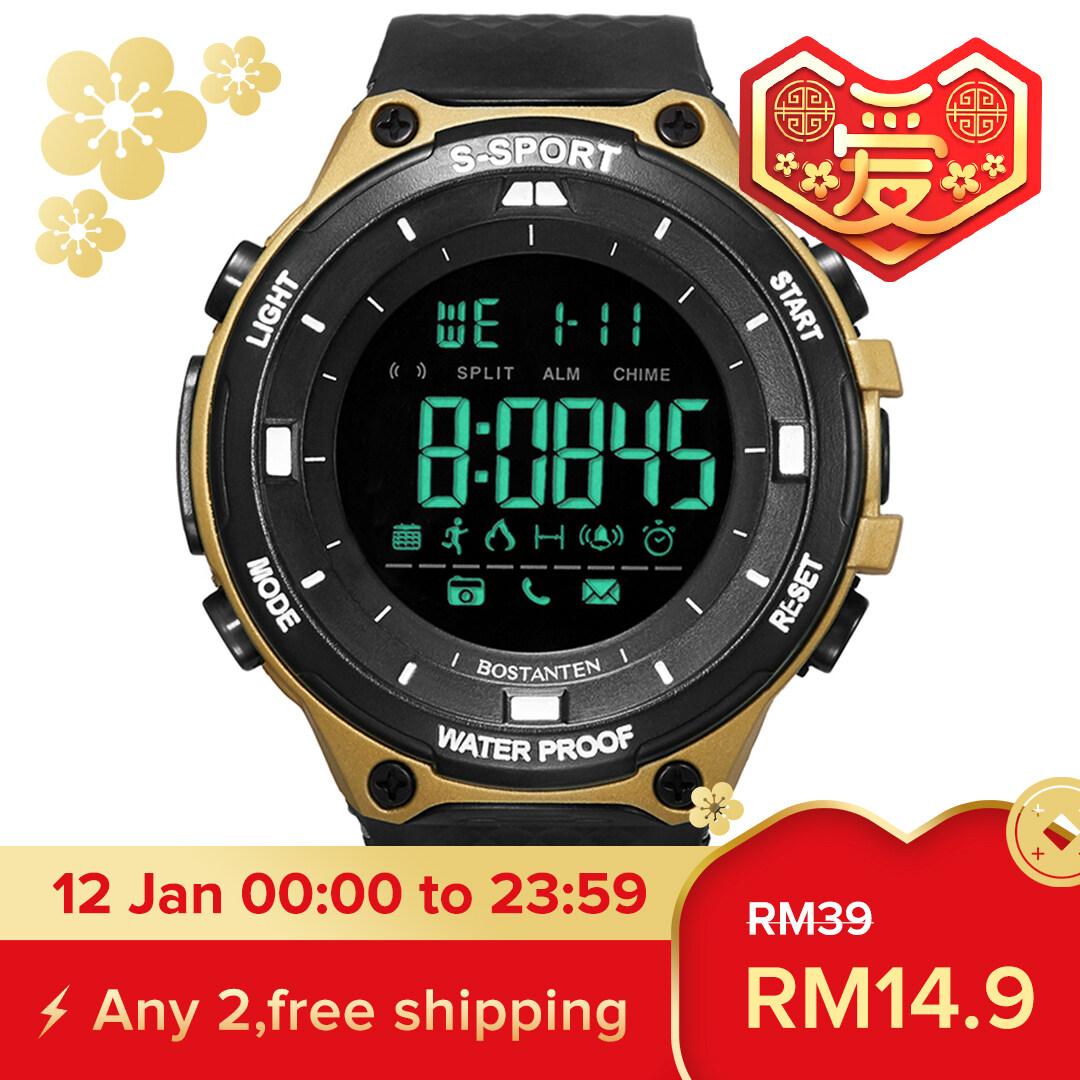 BOSTANTEN Mens Watch On Sale Waterproof Watch For Men BOSTANTEN Original Watches Latest Digital Sport Wristwatch-4693K Malaysia