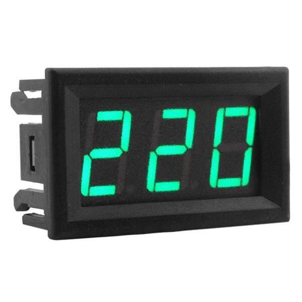 0.56 Inch AC70-500V 2 Dây Kỹ Thuật Số LED Đồng Hồ Đo Điện Áp Vôn Kế Máy Kiểm Tra Vôn