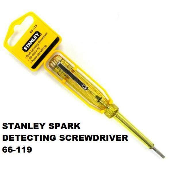 Stanley 66-119 Spark Detecting Screwdriver 100-500V 5-1/2 inch Test Pen