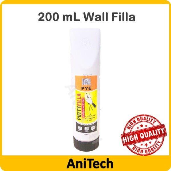 [PYE] 200 ml Putty Filla Wall Filla Sealeant Filling Cracks And Holes Instant Filla Filler White Home Kitchen Bathroom / Penampal Batu Filla