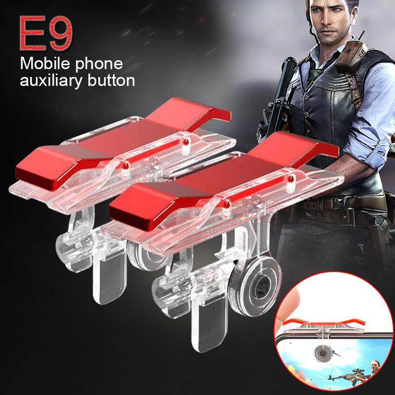 Gogostore Game Shoot Button 1pair Controller Game Joystick Game Accessories Mobile Phone Aim Key Gaming Shooter Phone Game Wireless Controller Game Button Handle Iphone By Gogostore.