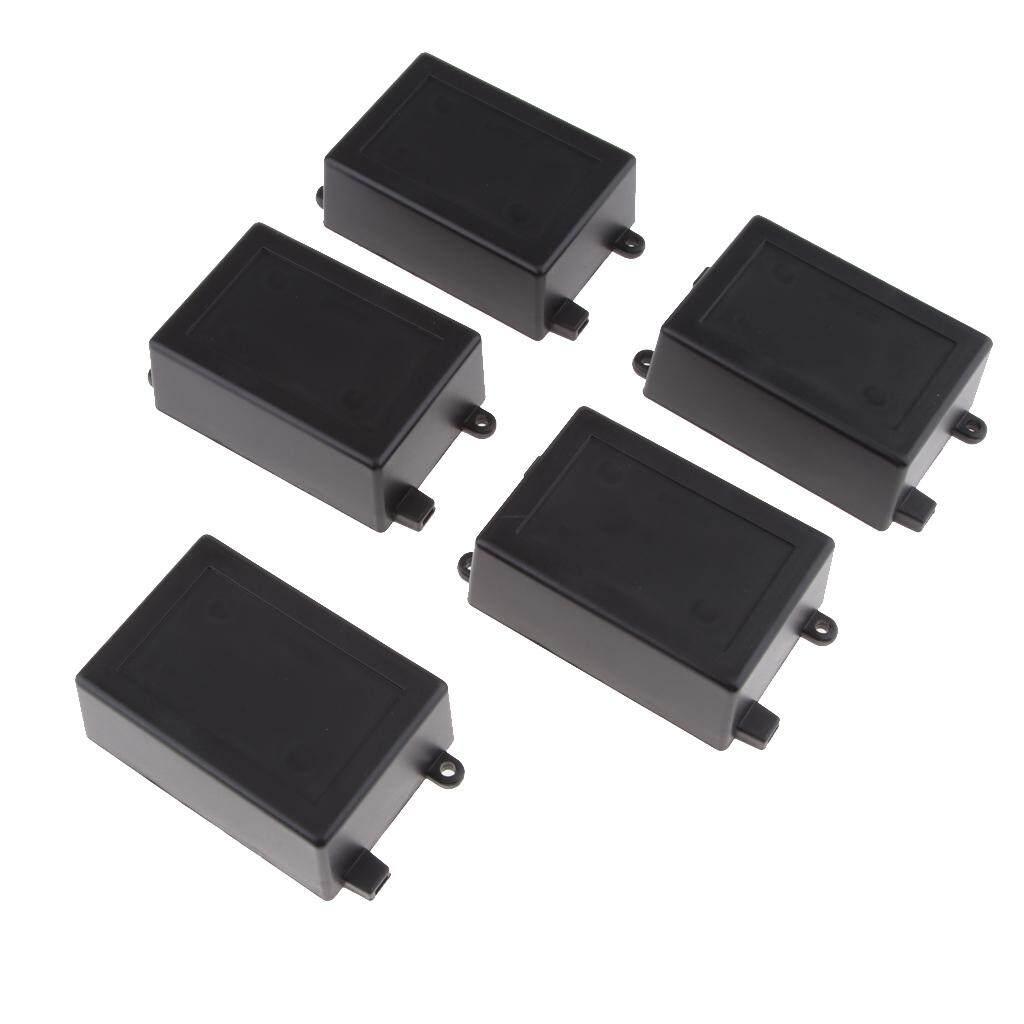Baoblade 5Pcs Plastic Cover Project Electronic Enclosure Case DIY Power Junction Box